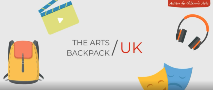 An introduction to the Arts Backpack UK