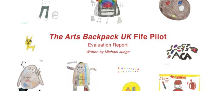 Arts Backpack UK Fife pilot